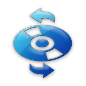 Blue Jelly Icon Media Cd Refresh Image