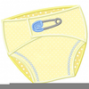 Free Cloth Diaper Clipart Image
