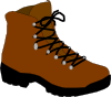 Hiking Boot Clip Art