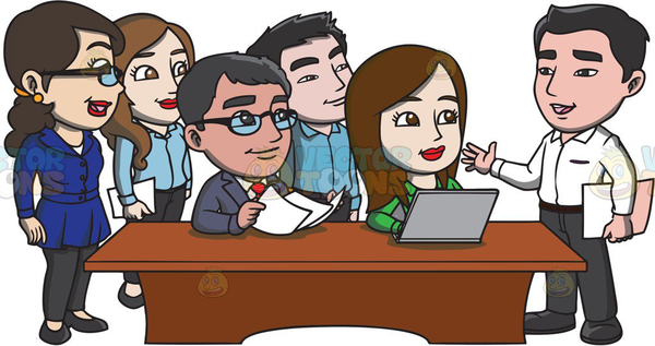 cartoon office workers clipart free images at clker com vector rh clker com busy office worker clipart office worker clipart funny