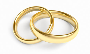 gold wedding rings image - Wedding Rings Clipart