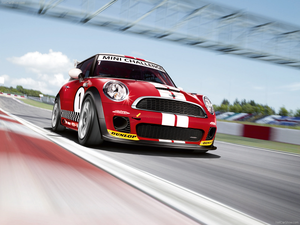 Mini John Cooper Works Challenge X Wallpaper Image