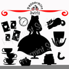 Alice In Wonderland Clipart Image