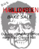 D.u.s. Halloween Bake Sale Clip Art