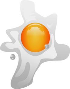 Fried Egg Clip Art