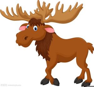 moose clipart cartoon free images at clker com vector clip art rh clker com Happy Moose Clip Art moose head clipart free