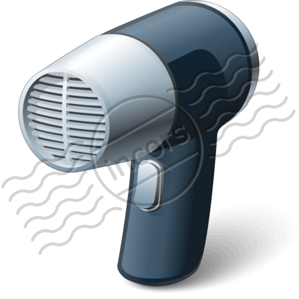 Animated Hair Dryer ~ Hair dryer free images at clker vector clip art