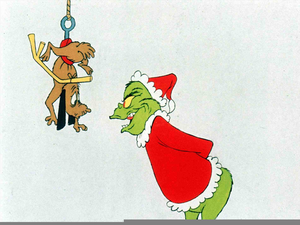 Free Grinch Stole Christmas Clipart Free Images At Clker Com