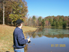 Man Fishing Image