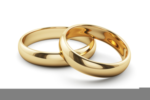 Two Wedding Ring Clipart Free Images At Clker Com Vector