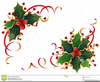 Christmas Holly Image Clipart Image