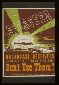 Disaster Broadcast Receivers Can Help The Enemy Sink You : Don T Use Them! / Etg. Image