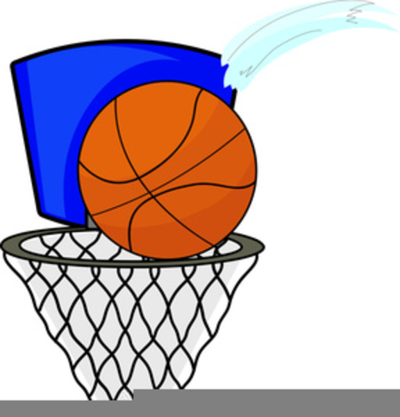 free basketball hoop clipart free images at clker com vector rh clker com