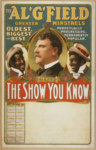 Al. G. Field Greater Minstrels The Show You Know. Image