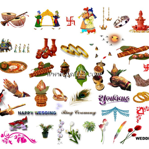 Clipart For Hindu Wedding Cards Free Images At Clker Com Vector