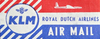 Klm Airmail Image