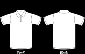 f6c067f33 Polo T Shirt Clip Art at Clker.com - vector clip art online, royalty ...