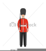 British Man Drawing Clipart Image