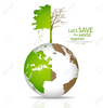 Save Our Earth Clipart Image
