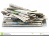 Pile Of Newspapers Image
