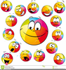 Cartoon Sports Balls Clipart Image