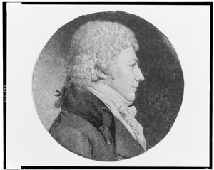 [john Walter, Head-and-shoulders Portrait, Right Profile] Image