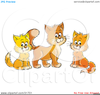 Free Clipart Christmas Cats Image
