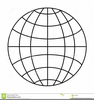 Free Clipart Globe Black And White Image