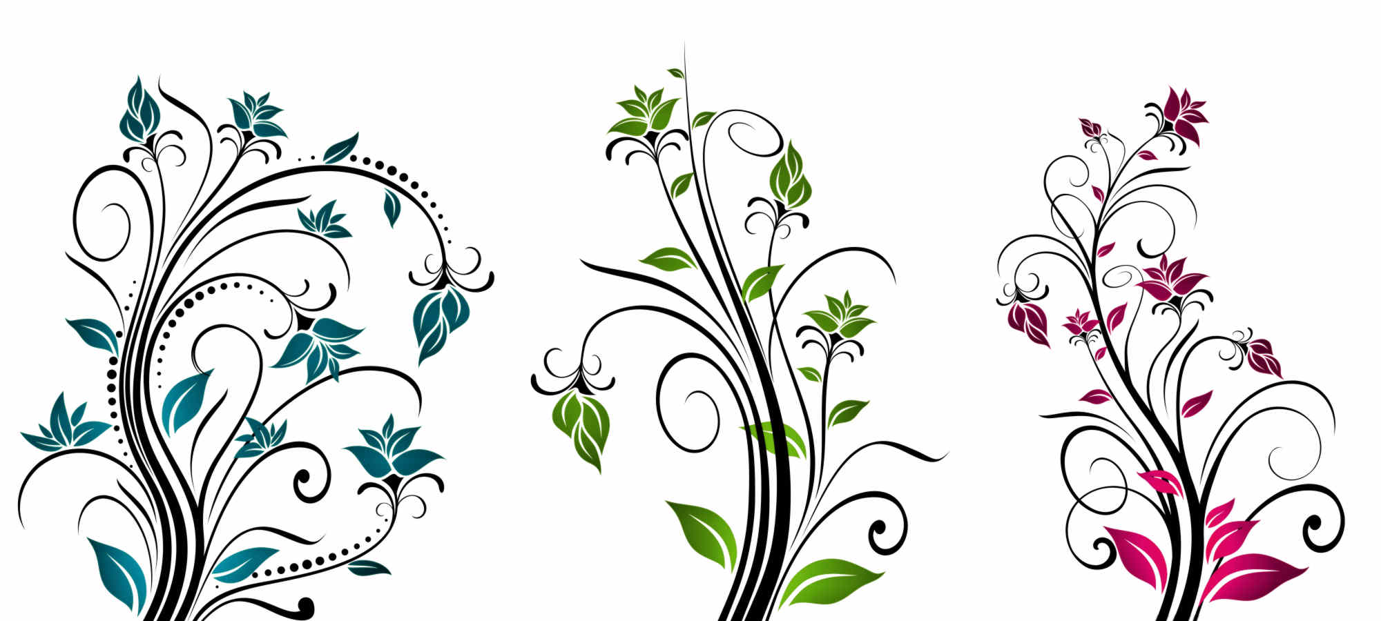vector clipart flowers - photo #45