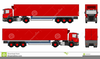 Clipart Semi Truck And Trailer Image