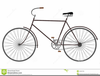 Bicycle Clipart Black And White Image
