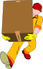 Carrying Box Clip Art