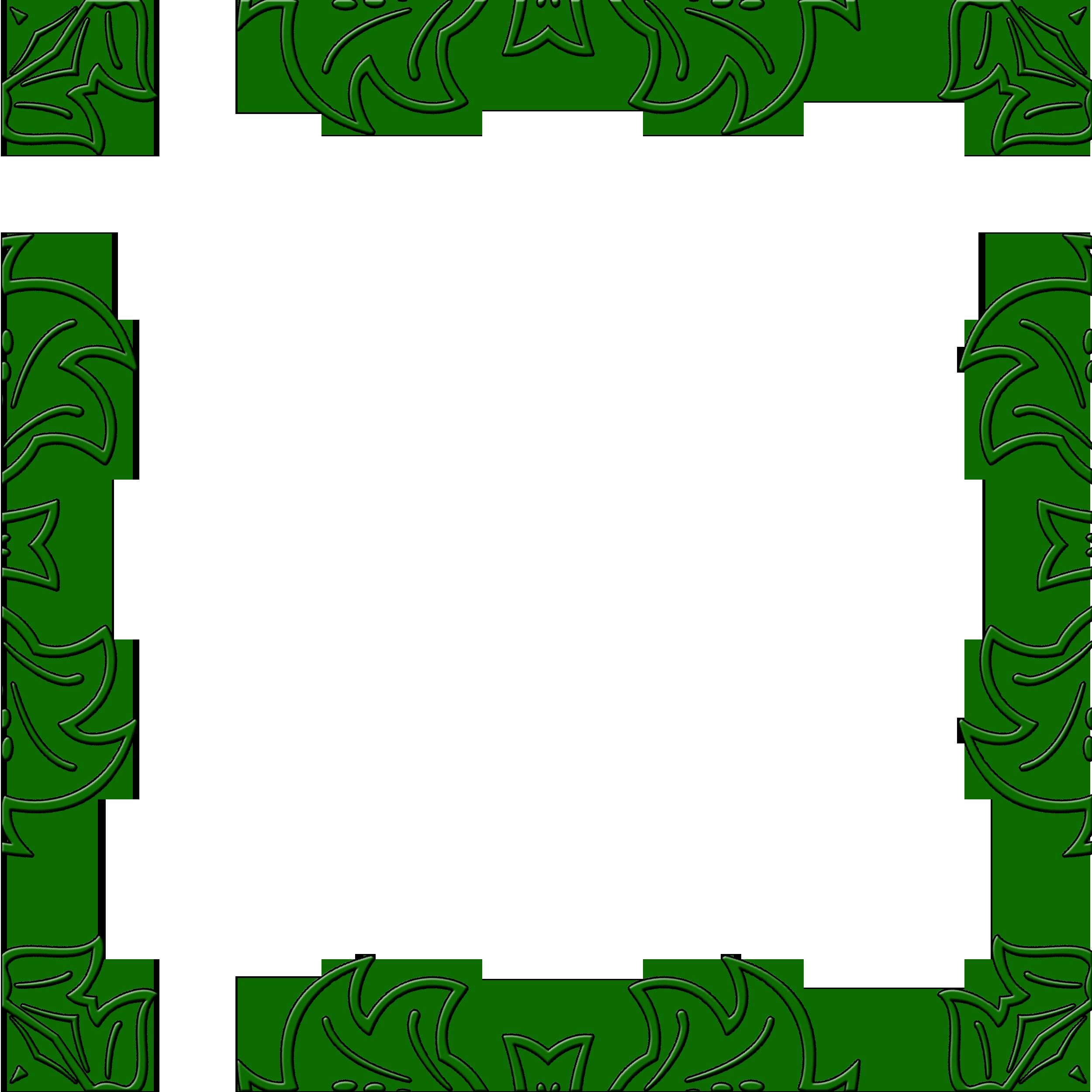 Tribal Frame Border Clip Art
