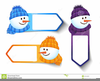 Royalty Free Snowman Clipart Image