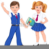 Catholic School Girl Clipart Image