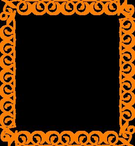 orange border clip art at clker com vector clip art online rh clker com clipart borders decorations clipart border rose