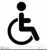 Free Clipart Handicapped Symbol Image