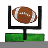 Football Touchdown Clipart Image