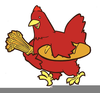 Free Clipart Red Hen Image