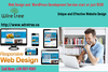 Web Design And Wordpress Development Service Start At Just Image