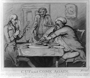 Cut And Come Again  / S. Collings, Delin. ; Jt, Sc., 1790. Image