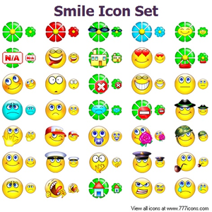 Smile Icon Set Image