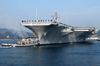 Uss Kitty Hawk Leaves For Routine Training Image