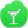 Free Green Cloud Coctail Image