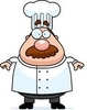 Royalty Free Rf Clipart Illustration Of A Plump Chef Guy In Uniform Image
