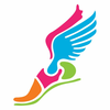 Free Clipart Track Shoe With Wings Image
