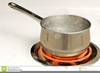 Pot Of Boiling Water Clipart Image