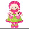 Boy And Girl Doll Clipart Image