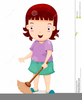 Free Clipart Sweeping Image