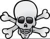 Clipart Crossbones Free Image